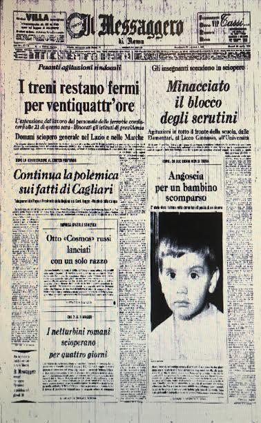 Un mistero lungo quarant'anni: la scomparsa di Marco Dominici.