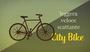 grafica guida ciclisti city bike